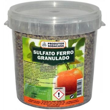Sulfato ferro granulado...
