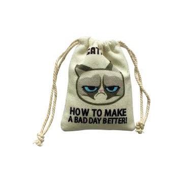 Grumpy Catnip Cat Sack