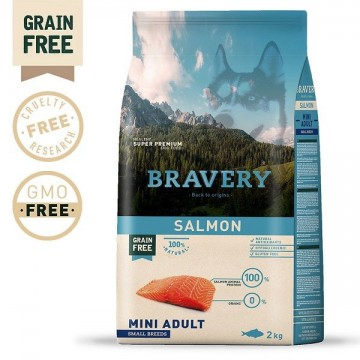 BRAVERY SALMON MINI ADULT...