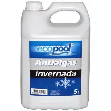 Ecopool antialgas invernada 5L