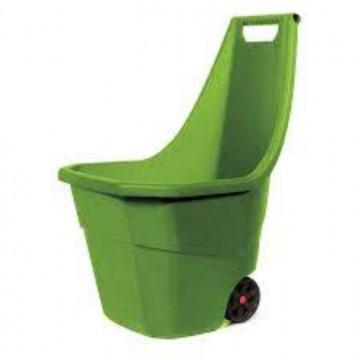 Carro de Jardim 55 L Verde