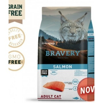 BRAVERY SALMON ADULT CAT...