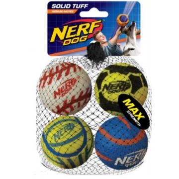 NERF TOUGH SPORTS BALLS M, 4UN