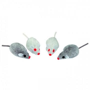 Kerbl Rato Peludo Cinza-Branco