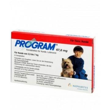 PROGRAM Cães 67,8 mg 2-7...