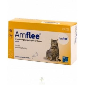 Amflee Spot On Gato 50mg 30...