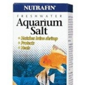 Nutrafin sal para aquarios...