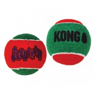 KONG HOLIDAY SQUEAKAIR BALL...