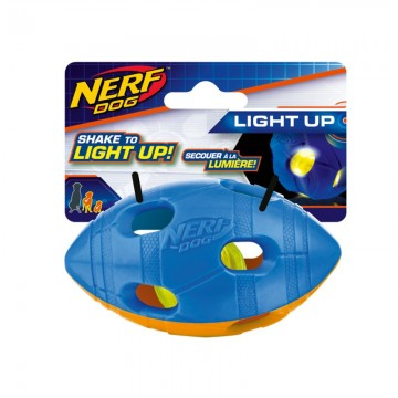 NERF LED BASH RUGBY BALL S