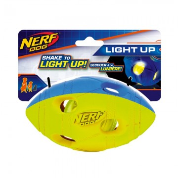 NERF LED BASH RUGBY BALL M