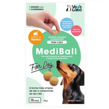 MediBall Cão Frango 20g